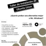 Este viernes Taller de instalación de Ubuntu Linux en la UTN, Tucumán