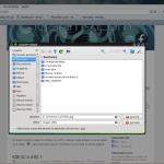 Modificación de Firefox para lograr mejor integración con KDE