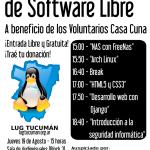 19 de Agosto: Jornada de Charlas de Software Libre a beneficio en Tucumán