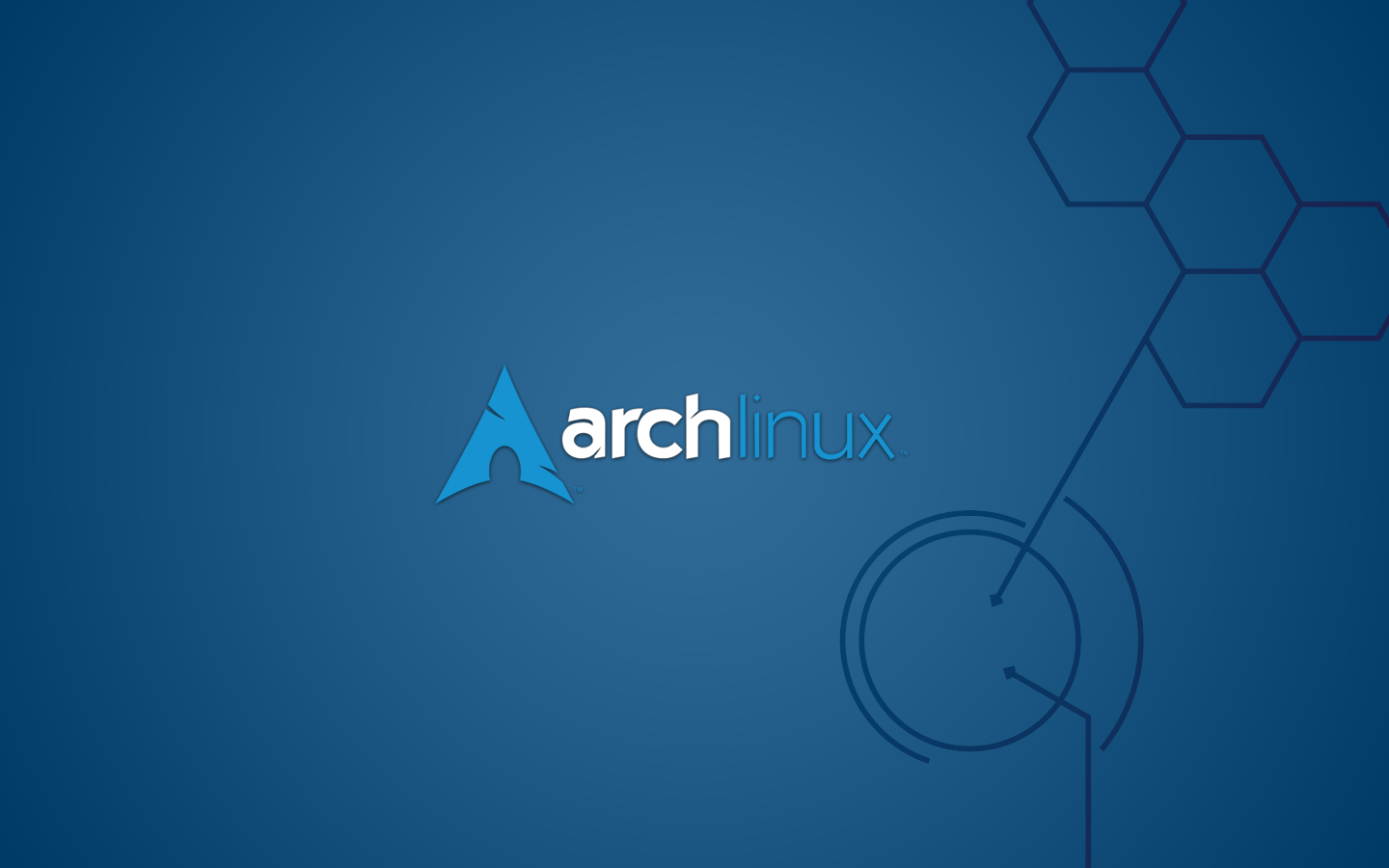 Arch Linux wallpaper.